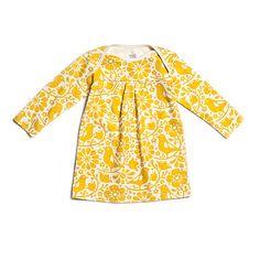 Yellow Organic Baby Dress