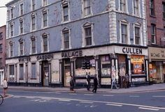 Dublin is the capital and largest city of Ireland, and in the province of Leinster on Ireland's east coast, at the mouth of the River Liffey. Ireland Pictures, Images Of Ireland, Old Pictures, Old Photos, Dublin Street, Dublin City, Irish Free State, Gone Days, The Province