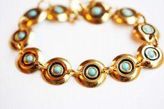 Turquoise Cleopatra Bracelet