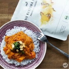 Vegetarian Mafé – healthy dish – low carb rice – peanut butter sauce – d … – The most beautiful recipes Healthy Low Carb Recipes, Healthy Dishes, Veggie Recipes, Vegetarian Recipes, Healthy Eating, Vegetarian Muffins, Low Carb Rice, Pesco Vegetarian, Plats Healthy