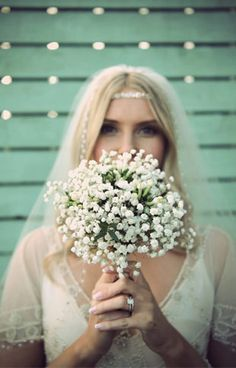 One Flower Bouquets - Baby's Breath