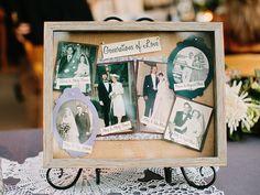 パパママ、おじいちゃんおばあちゃんの結婚写真を飾るの素敵なアイディア