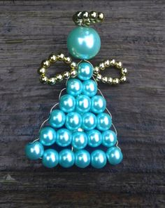 Pearl Angel Pins/Brooches by CraftsbyYvonne on Etsy, $7.50