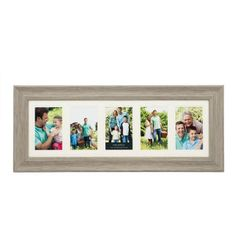 melannco 5 opening double matted photo frame