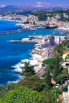 FRANCE.... NICE. The natural beauty and its mild Mediterranean climate came to the attention of the English upper classes in the second half of the 18th century.