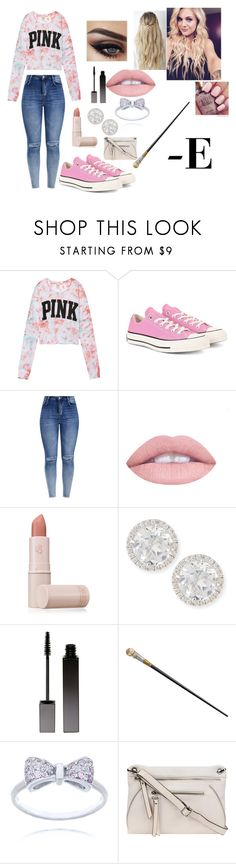 """""""OTWT #1"""" by fifth-marauder0221 ❤ liked on Polyvore featuring Victoria's Secret, Converse, L.A. Girl, Lipstick Queen, Frederic Sage, Serge Lutens and Nicole Miller"""