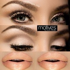 Neutral Glam Makeup Tutorial with Vegas_Nay and Motives Cosmetics