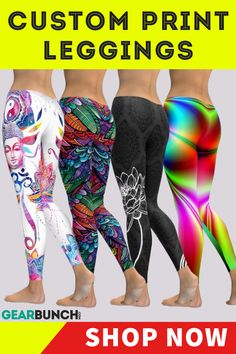 Find the brightest & most fun legging designs both for every day wear, fitness & festivals! We at GearBunch are Committed to you looking your absolute MOST fresh & stylish at all times. Workout Leggings, Workout Pants, Women's Leggings, Printed Yoga Pants, Pink Yoga Pants, Best Workout Apps, Exercise Apps, Short Outfits, Sexy Outfits