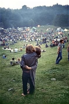 Original Woodstock. Wish I were able to go. Need that damned Delorean!