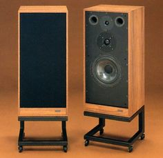 Vintage audio speakers Spendors SP1/2 - balanced, natural, refined, moving.