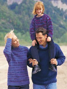Big-Stitch Pullover | Yarn | Free Knitting Patterns | Crochet Patterns | Yarnspirations