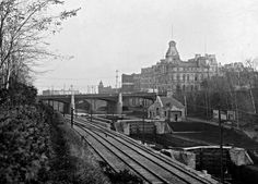 Looking south towards Union Station. Dated as pre-1939.