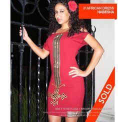 Ethiopian Inspired Dress - Habesha