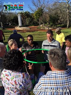 Hula Hoop Down Team Building Activity