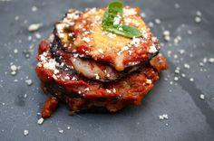 Parmigiana di melanzane – Auberginengratin | Kochen Kunst und Ketchup