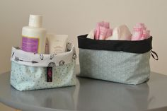 Vide Poche, Diaper Bag, Basket, Couture, Fabric, Promotion, Baskets, Nursery, Custom In