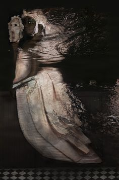 Eurydice Noir, 2014 120 x 200 cm, Addition of 7 Pieces Fine Art Photography by dindi. www.dindi.nl