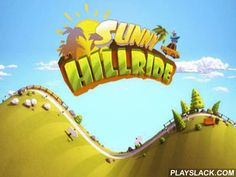 Sunny Hillride  Android Game - playslack.com , Sunny Hillride   operate a van with a big amount of case and attempt not to lose it leaping  on varicoloured hills. Watch that you have fuel and gather coins.