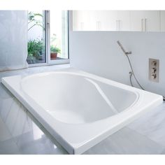 "You'll love the Archer 60"" x 30"" Soaking Bathtub at Wayfair - Great Deals on all Home Improvement  products with Free Shipping on most stuff, even the big stuff."