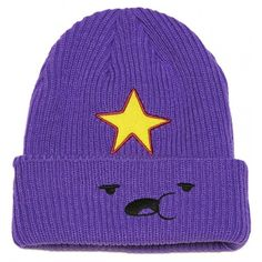 Adventure Time Lumpy Space Princess Beanie ( 21) ❤ liked on Polyvore  featuring accessories 7a795e947f9