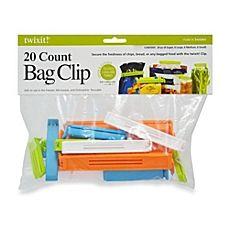 image of twixit!® 20-Piece Bag Clips