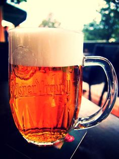 Pilsner Urquell in Prague. Cheers! (photo by @Dave Dean)