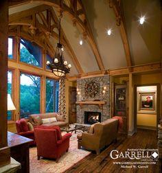 Amicalola Cottage House Plan 05168, Lodge Room Garrell Associates