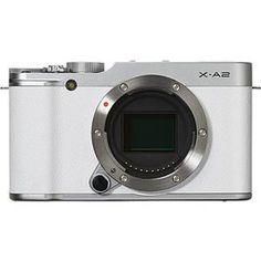 Fujifilm X-A2 Mirrorless Digital Camera (White Body Only) International Model No Warranty