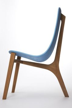 Blue Baby Chair by Paul Venaille