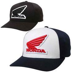 4ef63d0f00f46 Fox Racing Honda Mens Flexfit Hats