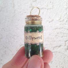 Gillyweed ornament. Harry Potter Christmas!