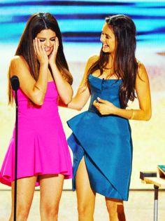 Selena Gomez and Nina Dobrev