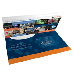 These Card Mailers are a professional way to send your plastic card out to customers