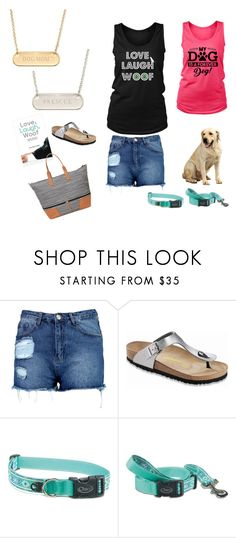 """""""Wear Your Puppy Love This Summer!"""" by lynn-stacy-smith on Polyvore featuring Boohoo, Birkenstock and Stella & Dot"""