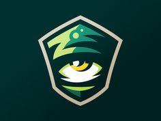 Eye branding coat of arms identity logo logotype defence sport sports green shield eye xbox Logo E Sports, Soccer Logo, Typography Logo, Graphic Design Typography, Logo Branding, Corporate Branding, Logo Luxury, Esports Logo, Shield Logo