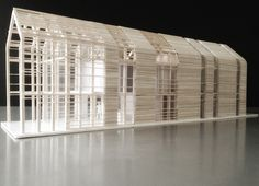 "archimodels: "" © djuric tardio - eco sustainable house - biarritz, france - 2012 """