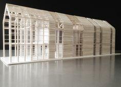 "archimodels: "" © djuric tardio - eco sustainable house - biarritz, france - 2012 """