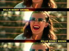 #milliebobbybrown Penshoppe, Retro Phone, One Image, Summer Photos, Millie Bobby Brown, New Face, Dye T Shirt, How To Take Photos, Stranger Things