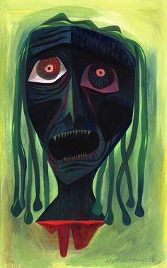 Lou Romano- Medusa Study