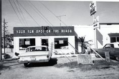 1971 In front of the Cocoa Beach Bowling Alley off S.R. 520