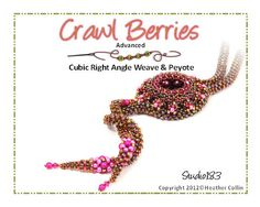 Cubic Right Angle Weave Lariat Beading Tutorial CRAWL by Studio183
