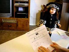 Addy's Coat Part 1 Make a doll coat out of fleece and trim it with fake fur using a free downloadable pattern.
