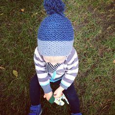 Einfache Mütze stricken – Easymütze {Anleitung}