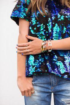 1de2e0879e6 The Bold Look. Sequin ShirtSequin ...