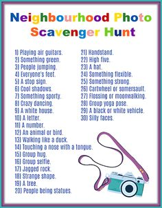 - This picture scavenger hunt is good for children of all ages… together with tweens and teenagers. And you can print it for absolutely free on this site. – youthful scavenger hunt , , hunt ideas for kids outdoor , hunt list for kids Picture Scavenger Hunts, Outdoor Scavenger Hunts, Scavenger Hunt For Kids, Scavenger Hunt Riddles, Scavenger Hunt Birthday, Home Activities, Summer Activities, Camping Activities, Photography Challenge