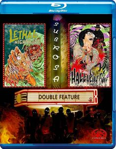 LETHAL NIGHTMARE / HALLUCINATIONS BLU-RAY (SRS CINEMA)