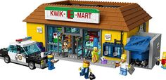 Kwik-E-Mart Lego, The Simpsons