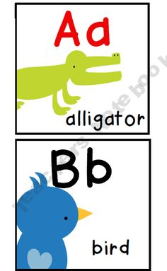 Zoo/Animal Theme Alphabet Line product from Inspired-in-Second on TeachersNotebook.com