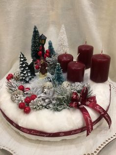 Image gallery – Page 349732727310002591 – Artofit Christmas Tree Village, Christmas World, Christmas Swags, Magical Christmas, Christmas Time, Christmas Crafts, Christmas Candle Decorations, Antique Christmas Ornaments, Christmas Candles