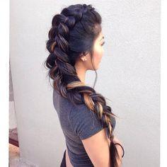 gorgeous dutch braid